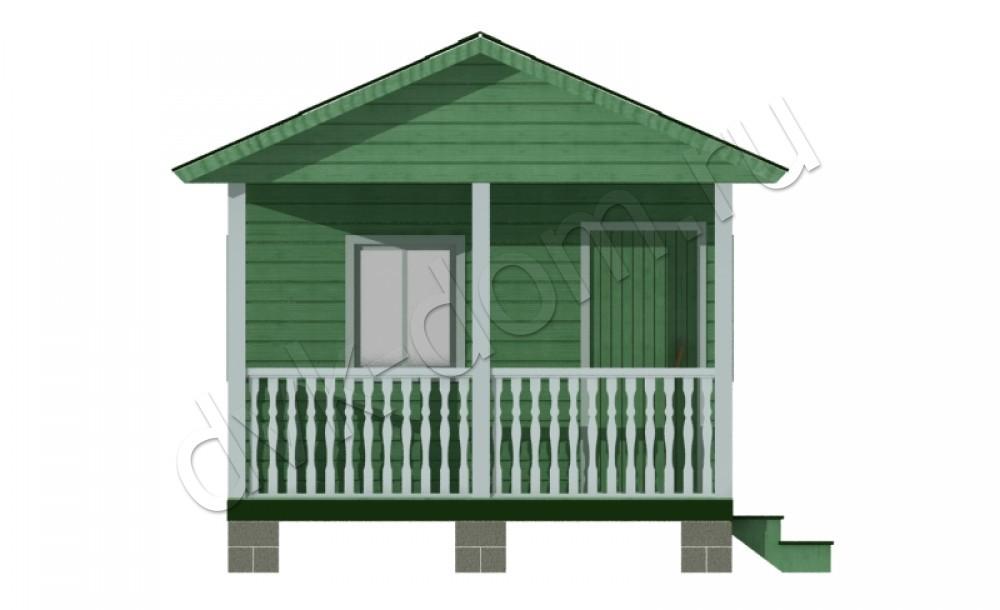 Дома из бруса 4 на 4 цена